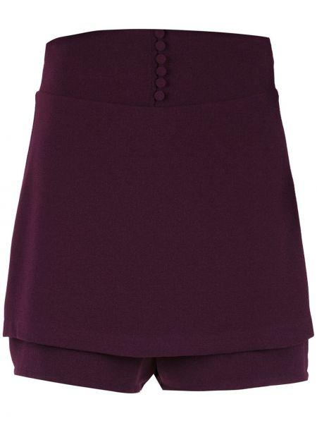 С рукавами красная ажурная юбка мини с вырезом Olympiah