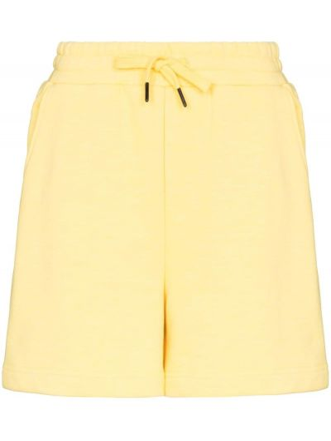 Żółte szorty bawełniane Sweaty Betty