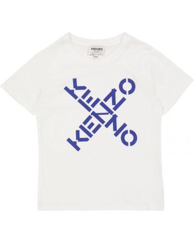 Лонгслив - белая Kenzo Kids