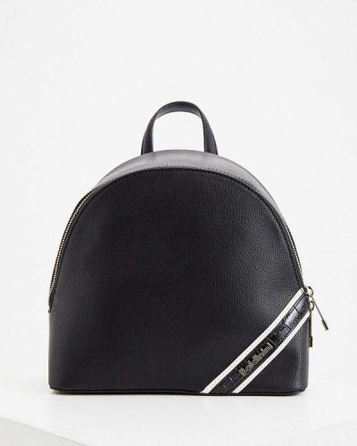 Черный рюкзак из натуральной кожи Baldinini