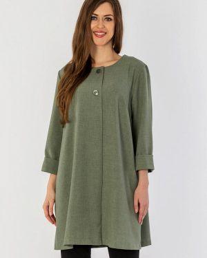 Пальто зеленое летнее S&a Style