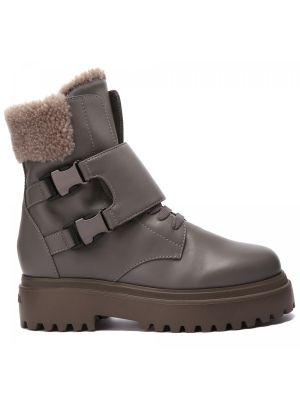 Серые резиновые ботинки Le Silla