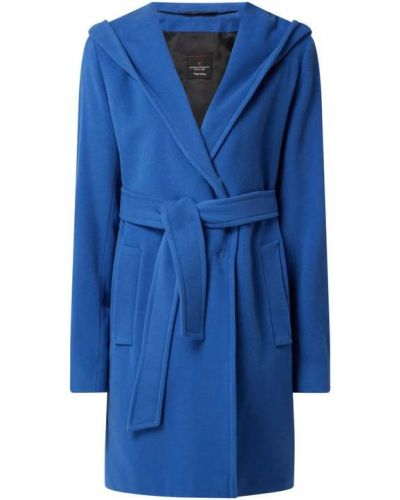 Niebieski płaszcz wełniany Fuchs Schmitt