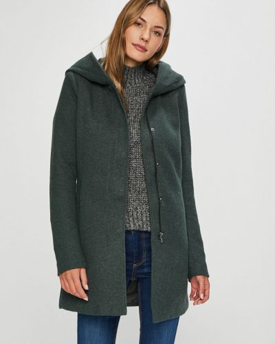 Утепленная куртка с карманами прямая Only