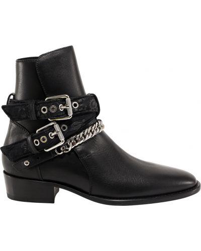 Czarne ankle boots Amiri
