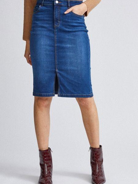 Синяя джинсовая юбка Dorothy Perkins