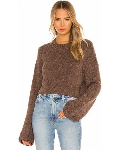 Bawełna bawełna światło pulower One Grey Day