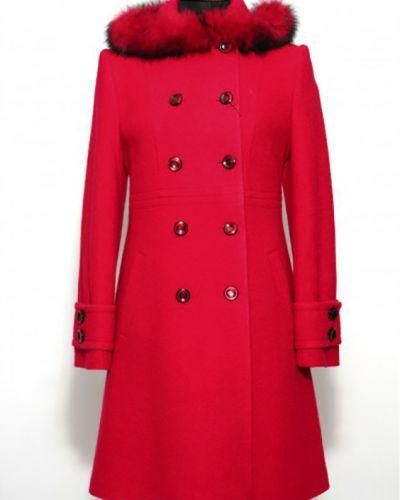 Зимнее пальто до колен на пуговицах Lacywear