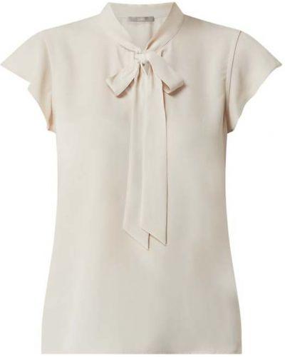 Beżowa bluzka krótki rękaw z wiązaniami Jake*s Collection