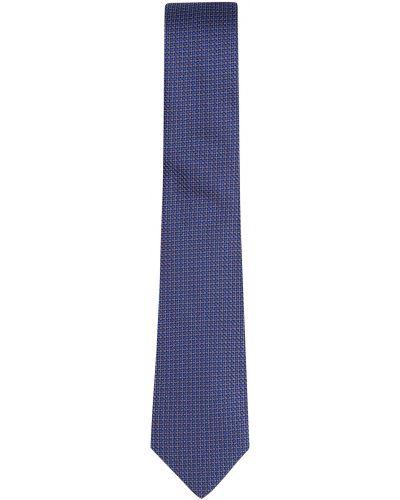 Синий галстук-бабочка с бабочками Silver Spoon