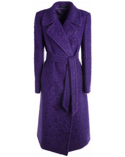 Fioletowy płaszcz Tagliatore
