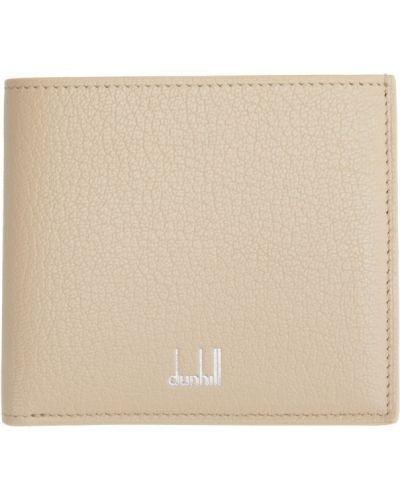 Beżowy portfel skórzany Dunhill