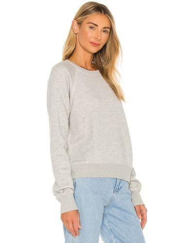 Bawełna bawełna bluza z raglanowymi rękawami zabytkowe Re/done