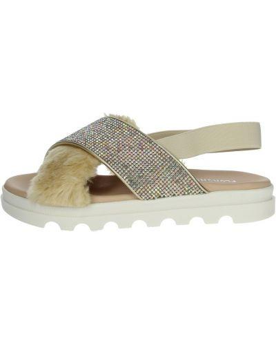 Beżowe sandały Florens