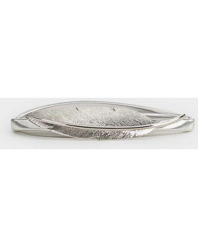 Ремень металлический серебряный Parfois
