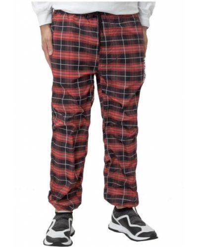Czerwone spodnie Pleasures