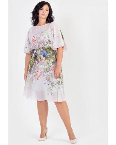 Платье с поясом на бретелях платье-сарафан Filigrana