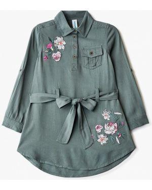 Платье зеленый повседневное Acoola