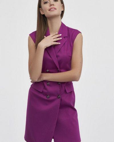 Платье - фиолетовое Evalution