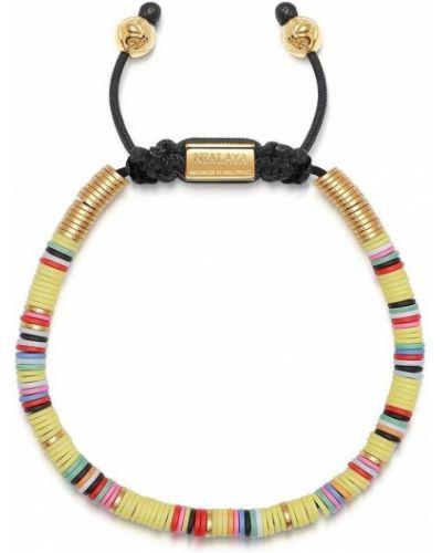 Klasyczna czerwona złota bransoletka ze złota Nialaya