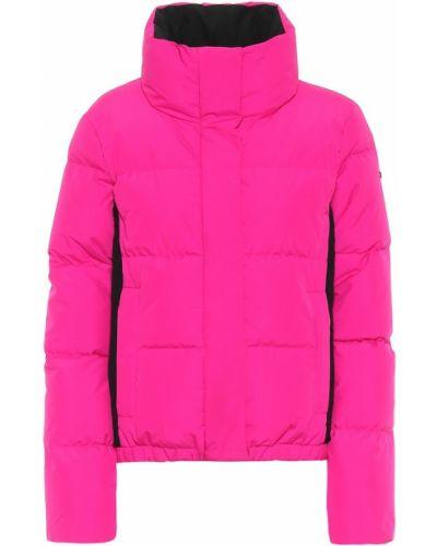 Пуховая домашняя городская розовая куртка Goldbergh