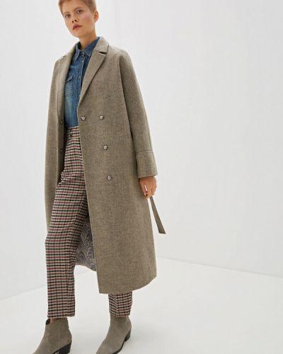 Пальто демисезонное серое Ovelli