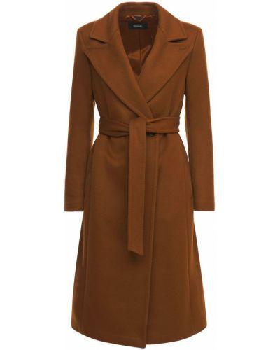 Коричневое кашемировое пальто Mackage