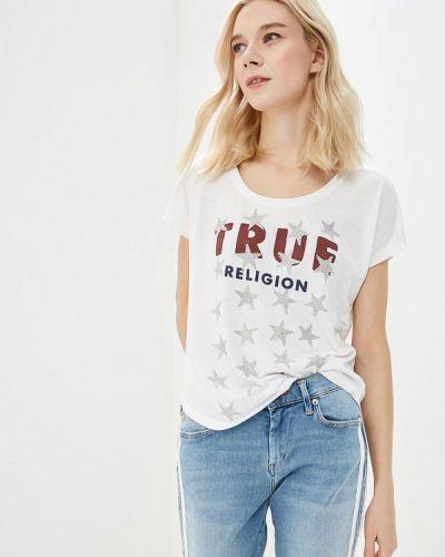 Белая футболка True Religion