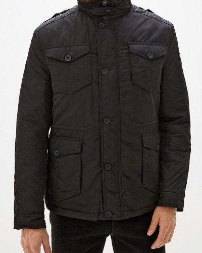 Зимняя куртка утепленная черная Young & Rich