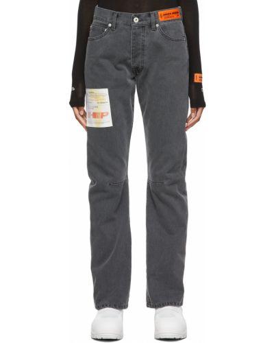 Джинсовые прямые джинсы - белые Heron Preston