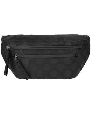 Поясная сумка в горошек текстильная Karl Lagerfeld