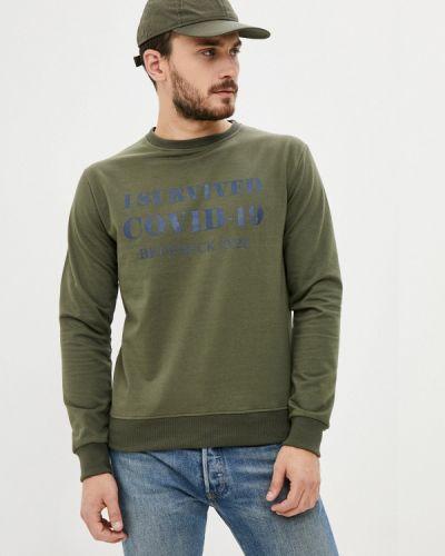 Зеленый свитшот Bruebeck
