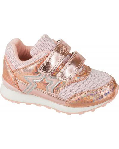 Брендовые текстильные розовые кроссовки Mursu