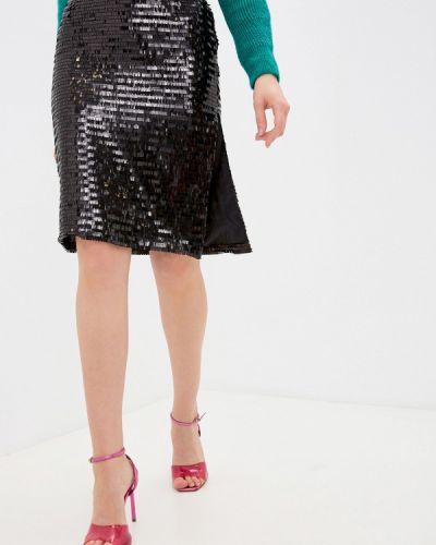 Прямая черная юбка карандаш Anastasya Barsukova