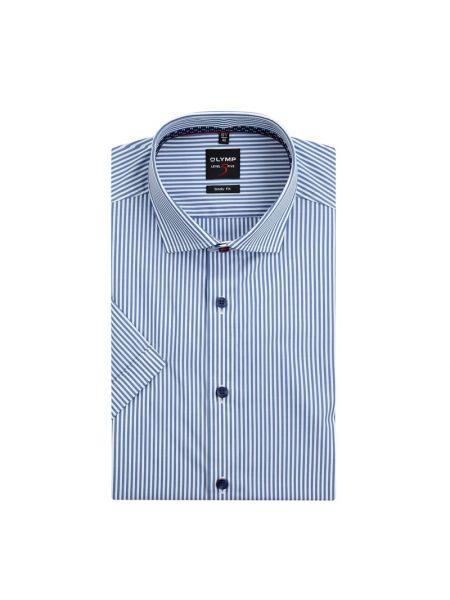 Koszula krótkie z krótkim rękawem w paski z paskami Olymp Level Five