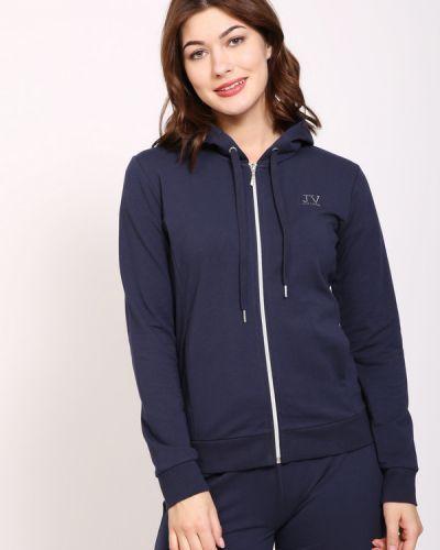 Хлопковый пиджак - синий Just Valeri