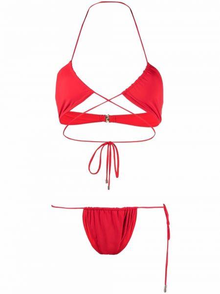 Красный купальник со средней посадкой Manokhi