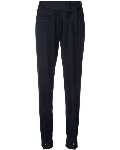 Спортивные брюки с карманами черные Dresshirt
