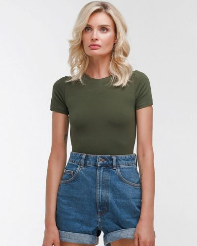 Боди блуза зеленый Dari Co