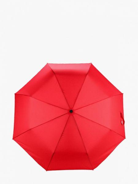 Красный складной зонт Lamoda