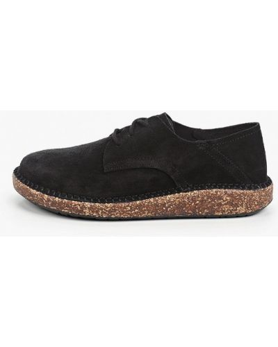 Черные ботинки Birkenstock