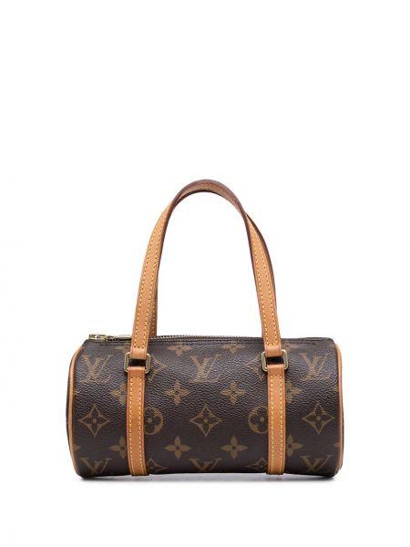 Коричневая сумка золотистая Louis Vuitton