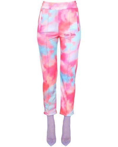 Różowe spodnie Teen Idol