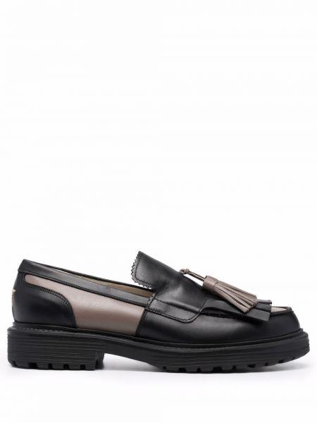 Черные туфли с кисточками Lorena Antoniazzi