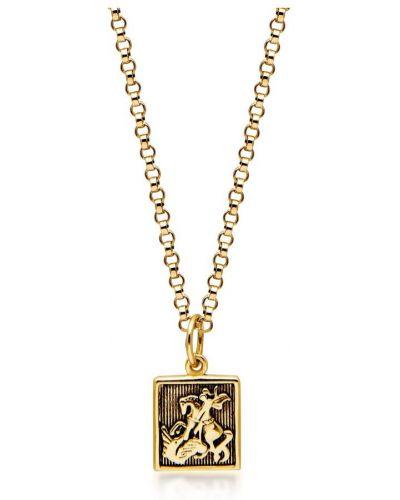 Żółta złota wisiorka Nialaya