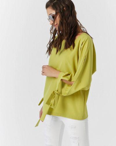Зеленая блузка Fly