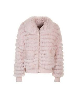 Куртка демисезонная розовая Max & Moi