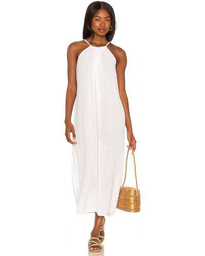 Платье макси длинное - белое Michael Stars
