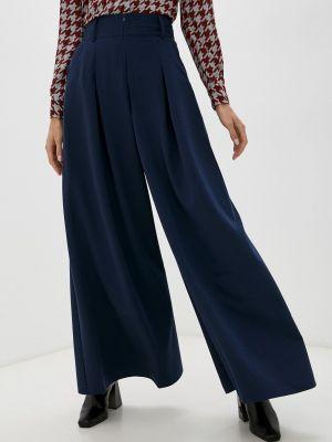 Синие демисезонные брюки Irma Dressy