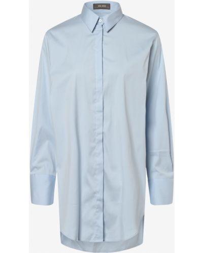 Bluzka oversize - niebieska Mos Mosh